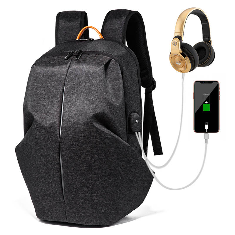 Многофункциональный USB зарядка для мужчин 15 дюймов ноутбук рюкзаки для подростков Мода Мужской Mochila досуг мужской рюкзак для путешествий ан... - 2