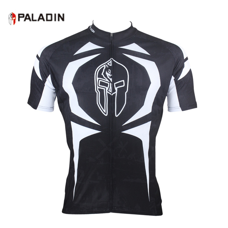 4d2635656 PALADIN Black Men s MTB Team Cycling Jerseys Short Sleeve Summer Sports Wear  Cycle Bicycle Clothing Zippered Tops Ropa Ciclismo-in Cycling Jerseys from  ...