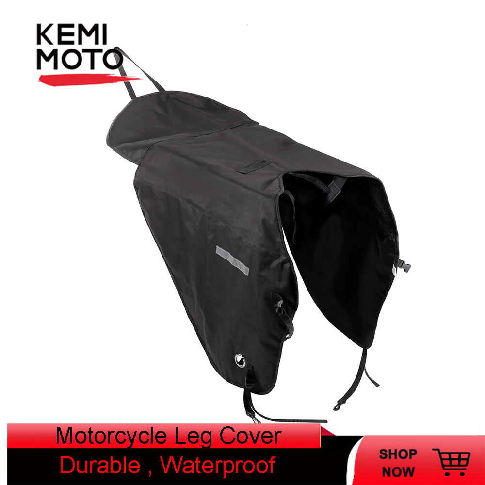 Scooter Leg Cover For Motorcycle Blanket Knee Warmer Rain Wind Protection Waterproof