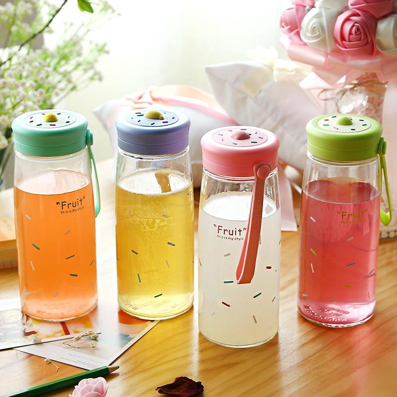 Buy free shipping 500ml glass fruit for Decor 500ml bottle