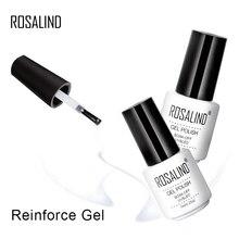 ROSALIND, 7 мл, усиленный гель, предотвращающий растрескивание, для маникюра, для защиты ногтей, Очаровательная толщина, впитывающий гель, лак для ногтей