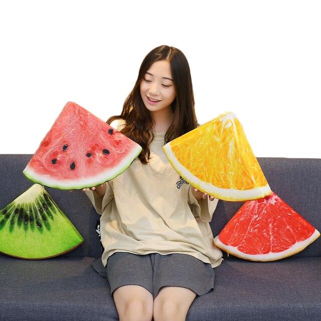 Fruits Stuffed Plush Pillows