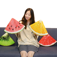 Kiwi-Cushion Watermelon Simulation-Fruits Stuffed Plush-Food Kids for Sponge Creative