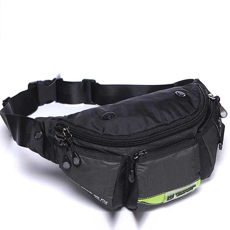 Men High Quality Waterproof Oxford Fanny Pack Bum Hip Belt Purse Pouch Shoulder Crossbody Messenger Military Chest Waist Bag