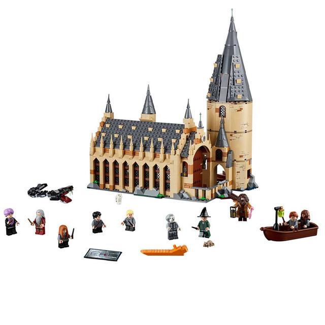 Harry Potter Moc Series - 8 Various Hogwarts Castle Diagon Alley