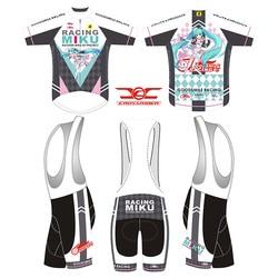 Crossrider 2019 RACING MIKU Mens แขนสั้นขี่จักรยาน JERSEY ชุด MTB Mountain จักรยานเสื้อผ้าญี่ปุ่นจักรยานเสื้อจักรยานสวมใส่ ...