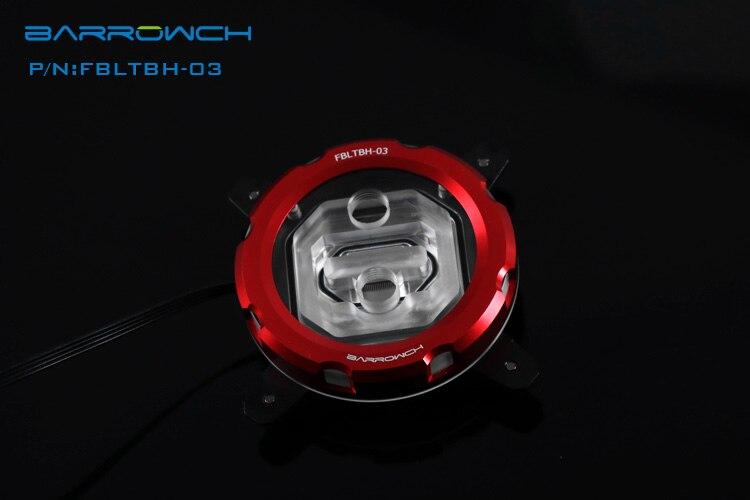 Prix pour Barrowch 115x rvb transparent acrylique cpu waterblock 0.4mm microcutting micro voie pour intel 115x fbltbh-04