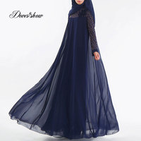 Fashion Muslim Dress Abaya Islamic Clothing For Women Malaysia Jilbab Djellaba Robe Musulmane Turkish Baju Kimono Kaftan Tunic
