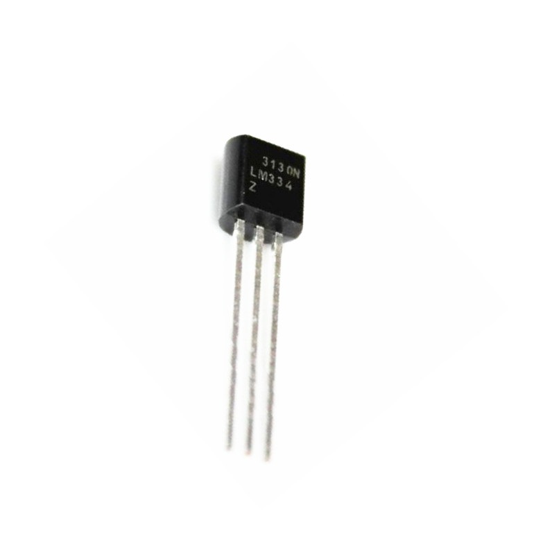 1 pcs LM334 LM334Z TO-92 Adjustable Current Sources and Temperature Sensor1 pcs LM334 LM334Z TO-92 Adjustable Current Sources and Temperature Sensor