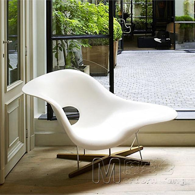 Eames La Chaise Duck Chair Recliner Lounge Longue Clouds European Living Room