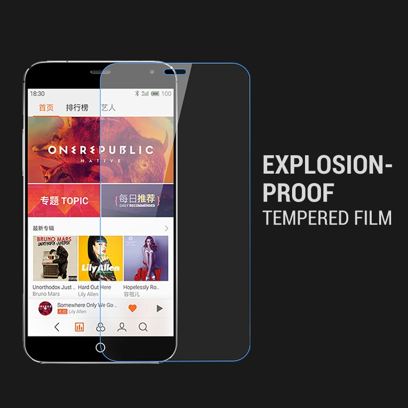 Tempered Glass For MEIZU MX4 Ultra-thin Screen Protector For Meizu MX4 Glass MX 4 Meizumx4 Toughened Protective Film Cover