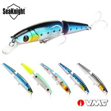SeaKnight SK041 Minnow Fishing Lure 21.5g 125mm 5PCS Per Set Fishing Lure Set 2 Sections Jointed Bait With VMC Hook Tackle Lures(China)
