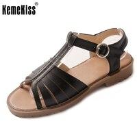 Women Peep Toe Flats Sandals Brand Sexy Fashion Gladiator Ladies Ankle Starp Sandal Footwear Leisure Shoes