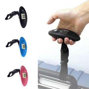 Image 3 - 1Pc 40kg/100g LCD Digital Electronic Luggage Scale Portable Suitcase Scale Handled Travel Bag Weighting Fish Hook Hanging Scale