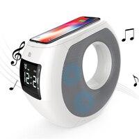 Домой bluetooth динамик Беспроводное зарядное устройство коврик музыкальный объемного звучания Nillkin уютный MC1 для OnePlus zuk для Samsung для Xiaomi для iPhone