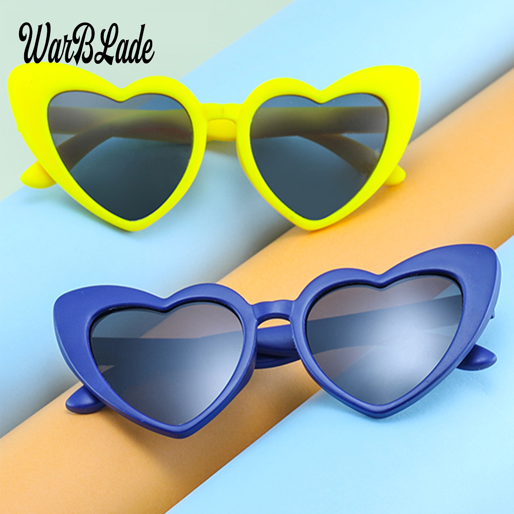 Boy's Glasses Strong-Willed Flexible Cute Kids Sunglasses Silicone Polarized Cats Eyes Childrens Glassess Uv400 Oculos Infantil Girls Goggles Boye Eyewear Apparel Accessories