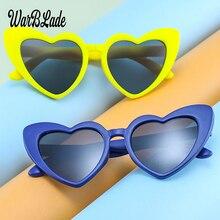 TR90 Kids Polarized Sunglasses Children Heart Sun Glasses Girls Boys