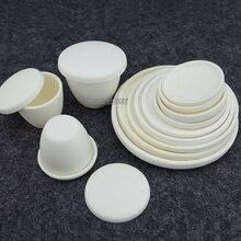 99% corundum alumina plate/Crucible lid/High temperature 1600 degrees/Category 3
