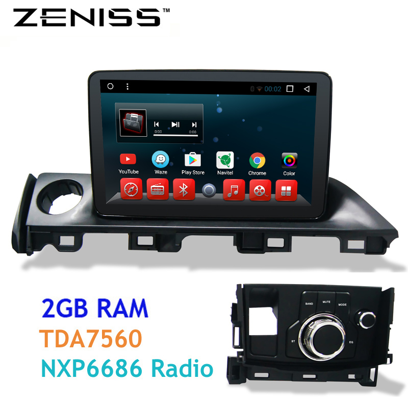 zeniss 2gb ram android screen gps car radio navi for mazda6 new mazda 6 atenza support steering. Black Bedroom Furniture Sets. Home Design Ideas