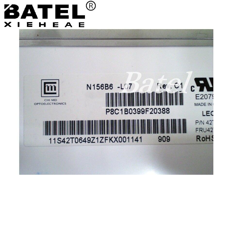 N156B6-L07 Antiglare Matte Matrix for laptop 15.6 LCD Screen 1366x768 40Pin Bottom Left matrix for laptop 15 6 slim 1366 768 ltn156at20 b156xw04 v 5 0 6 1 b156xtn03 2 b156xw03 ltn156at11 lp156wh3 ltn156at30