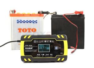 Image 5 - FOXSUR 12V 24V รถจักรยานยนต์รถกอล์ฟแบตเตอรี่ Charger Maintainer & Desulfator อัจฉริยะ,PULSE Battery Charger