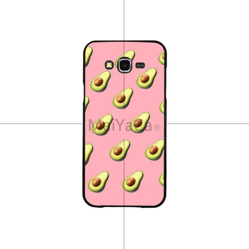 MaiYaCa Nette Avocado Lebensmittel Muster Bunte Intelligente Abdeckung Telefon Fall Für Samsung J6 puls J7 J730 J8 J2 PRIME J2 pro 2018 J4 puls