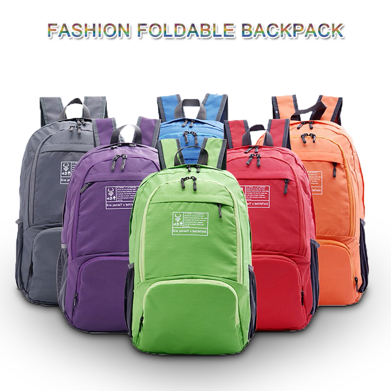 Ultra Lightweight Packable Water Resistant Travel Hiking Backpack Daypack Handy Foldable Camping Outdoor Backpack in Backpacks from Luggage Bags