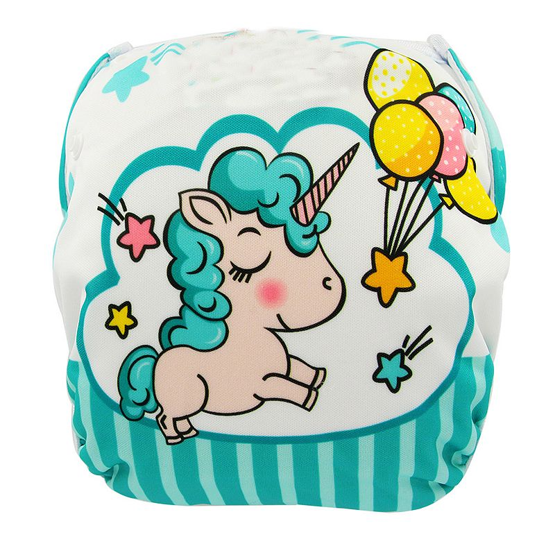 Baby's Animal Printed Swim Diaper