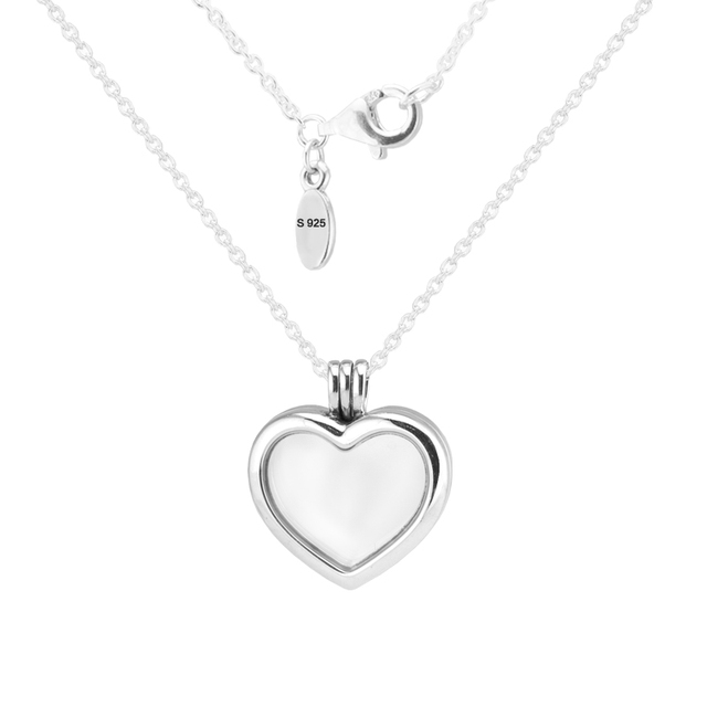 Fine Jewelry Womens Sterling Silver Locket Necklace oQ8FC9E