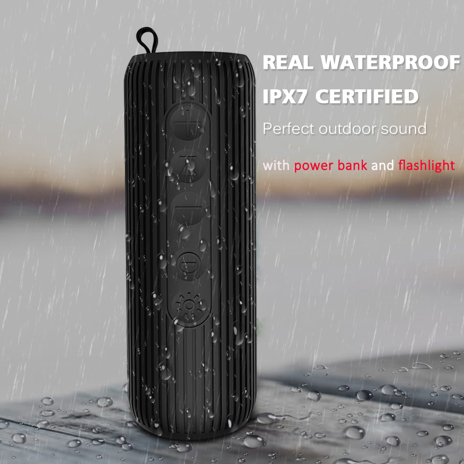 6W Wireless Bluetooth Speaker Waterproof Portable Outdoor Mini Column Bluetooth bicycle Speaker Hifi Subwoofer Bass Speaker dbigness 20w bluetooth speaker cardboard portable speaker music column stereo speaker super bass boombox car outdoor subwoofer