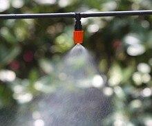 30 м микро-орошения шланг набор 12 В мини водяной насос 30 шт. высокое качество регулируемая туман спринклерной