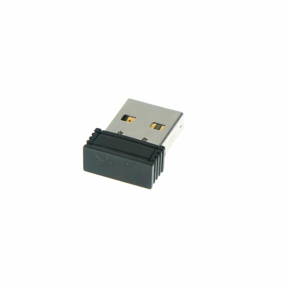 Dongle Nirkabel Penerima USB untuk Laptop Buah Dongle Penerima Unifying 2.4G Nirkabel Mouse dan Keyboard Adaptor 2X1.4 CM