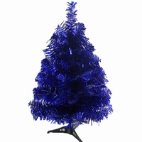 60cm Encryption Christmas Tree With Feet Creative Blue Color Tree For Christmas Decoration Artificial Christmas Tree