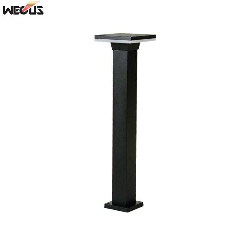 (WECUS) Modern outdoor waterproof garden light, park villa community lawn lamp, garden outdoor grass landscape lamp