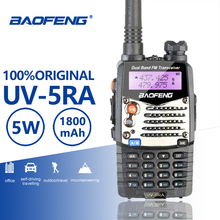 Buy Baofeng UV-5RA Walkie Talkie Alarm LED Flashlight Two Way Radio Dual Band Ham Hf Transceiver Baofeng UV-5R Upgraded Interphone directly from merchant!
