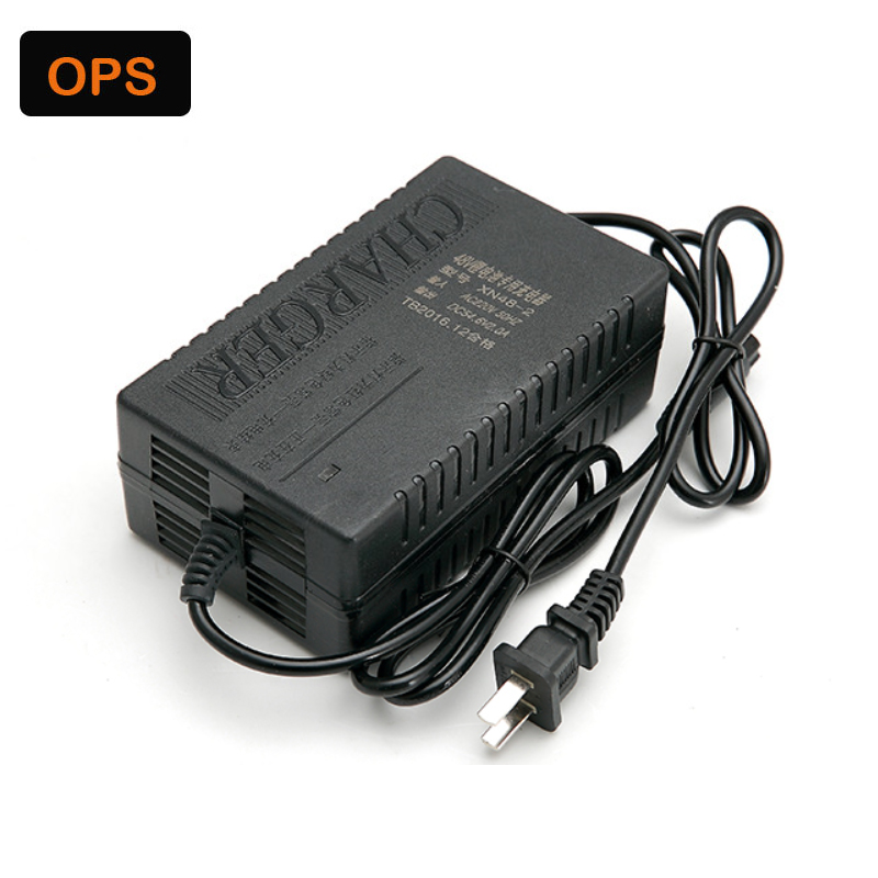 OPS 48V2A 54.6V 13S Universal Charger for E-Bike Lithium battery Li-Pro Li-ion Wheel Scooters Drifting Board Electric Charger