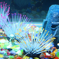 New Arrival Luminous Silicone Sea Anemone Glowing Artificial Fish Tank Decor Aquarium Decoration Ornament