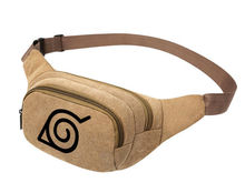 NARUTO Hokage Mens Canvas Waist Pack Pouch