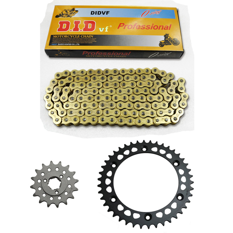 MOTORCYCLE 520 CHAIN Front & Rear SPROCKET Kit Set FOR Suzuki Road SP600 F USA,DR600 S-SU,R,RU,F,G,H,J SN41A,DR650 RSE-L,M,N,P,R