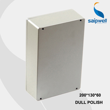 200*130*60mm Size Industrial Waterproof Aluminium Box / Electrical Aluminium Enclosure With CE,ROHS