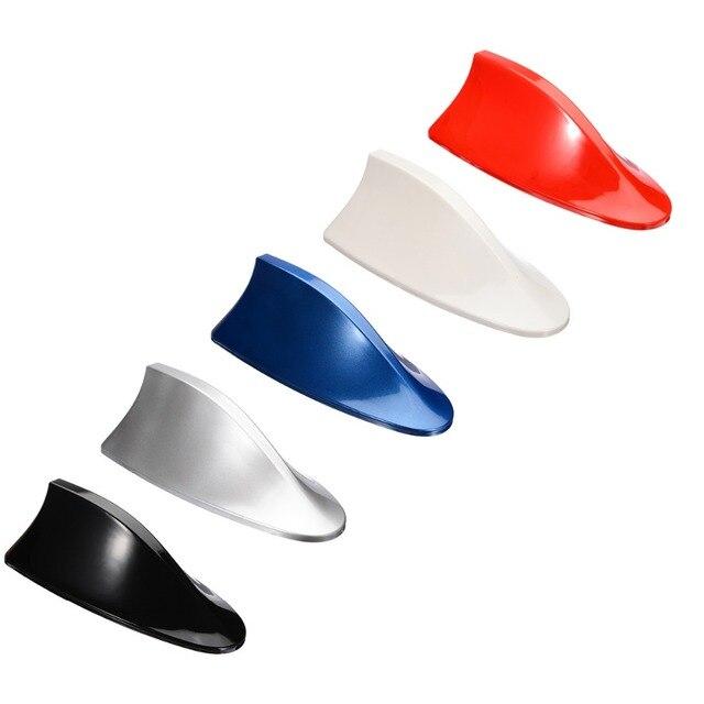 MAYITR 6 colores de rendimiento de coche de aleta de tiburón Antena de techo de aleta de tiburón Antena de Radio FM/AM decoración aérea para BMW de alta calidad