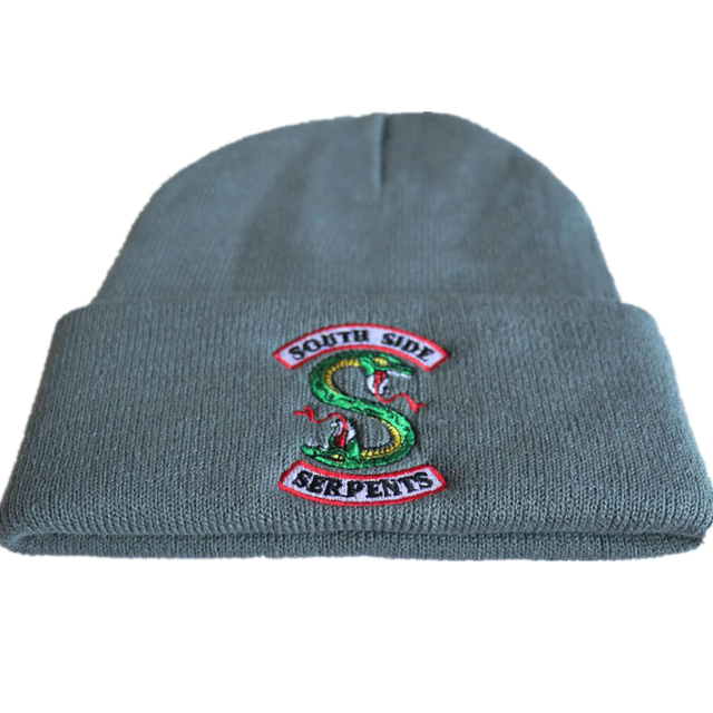 RIVERDALE THEMED EMBROIDERY BEANIE (9 VARIAN)