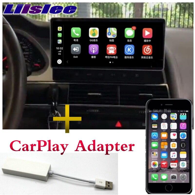 A6 A6L Liandlee Multimídia Carro Jogador NAVI Para Audi 2005 ~ 2011 Adaptador CarPlay 4G RAM GPS Estéreo Rádio 4G Tela de Navegação