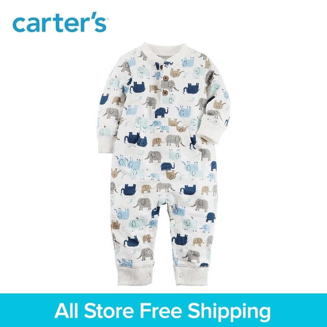 f84979530e76 Carter s 1 Piece baby children kids clothing Boy Elephant French ...