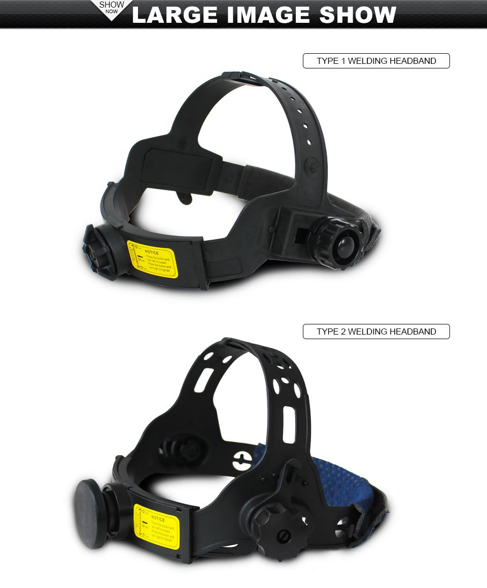 Respuesto soporte ajustable para máscara de soldadura de oscurecimiento automático