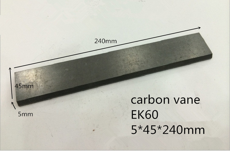 5*45*240mm graphite vane for Fuel pump /graphite sheet for carbon blades цена