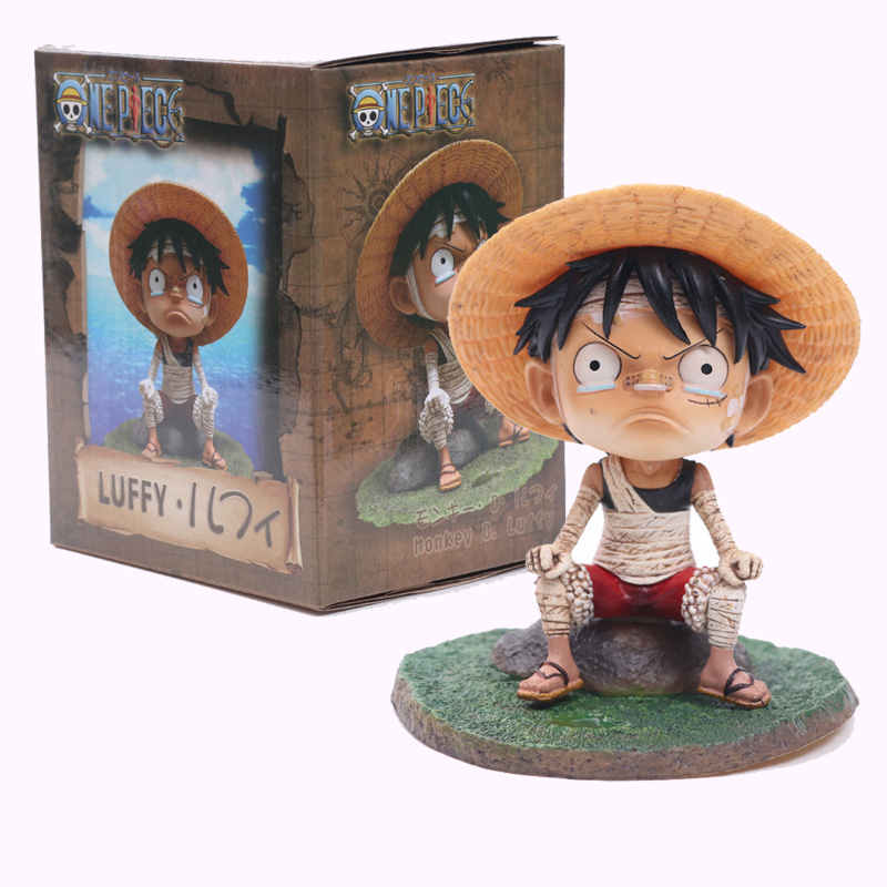 Animation One Piece Monkey D Luffy Figurine Cute Child Ver Toys & Hobbies Luffy Pvc Action Figure Toys 12 Cm Moderate Price