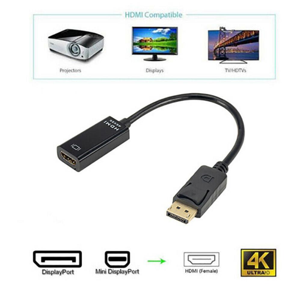 1080P HDMI Adapter Converter Originele Voor HP/for DELL Laptop PC Man-vrouw DP Kabel Display Port Naar