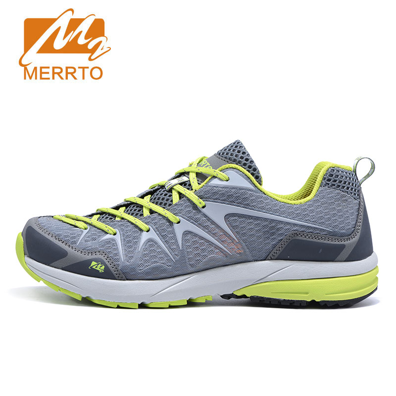 MERRTO New Popular Men Outdoor Sports Shoes Breathable Air Mesh Walking Shoes Climbing Fishing Outdoor Shoes Climbing Trekking