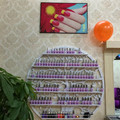 six-layer 47inch diameter Cosmetic display rack hanging nail polish shelf -120cm of  diameter